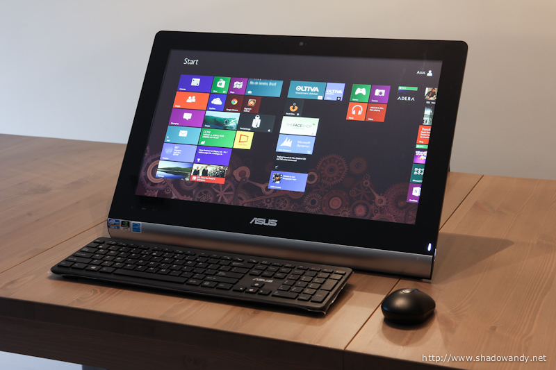 ASUS ET2220 - 21.5 inch All-in-One PC for your daily computing needs