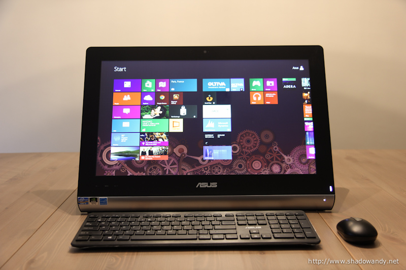 """ASUS ET2220 - Look! No wires attached to the 21.5"""" Full HD LED-backlit AIO PC!"""