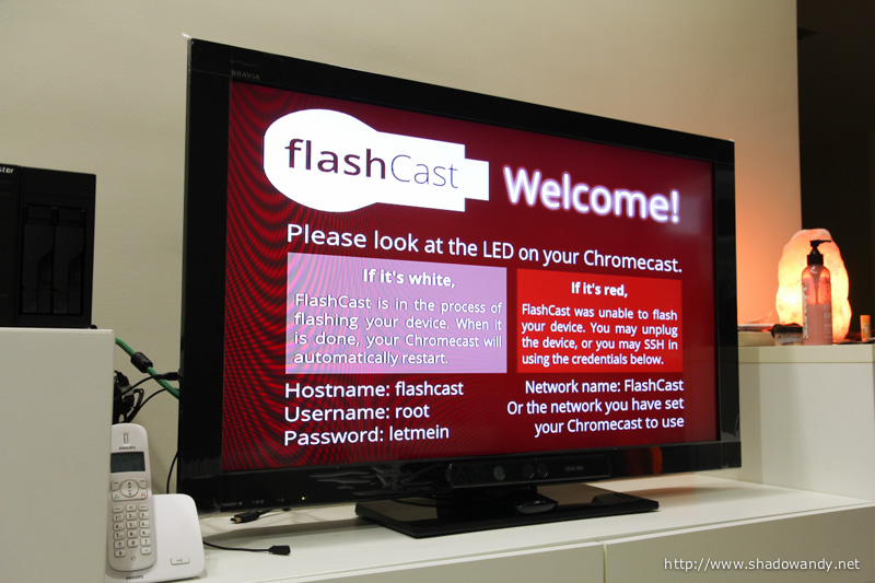 Rooting it using FlashCast and PwnedCast ROM