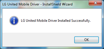 USB drivers installed successfully!