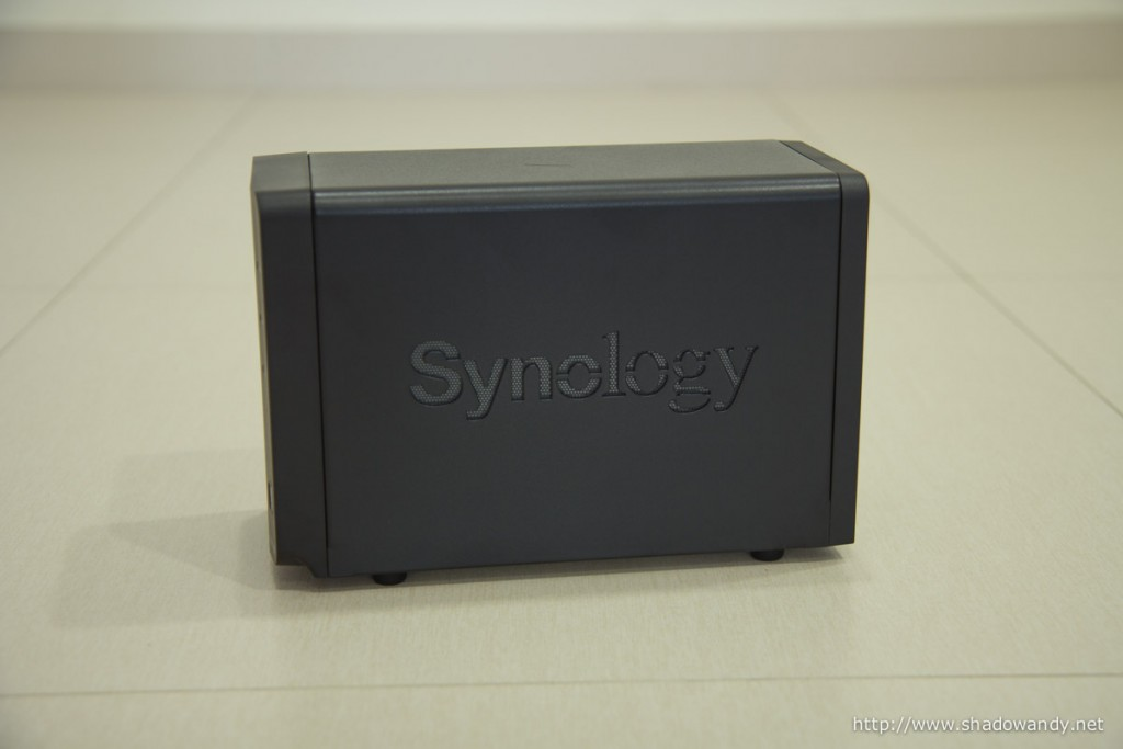 Synology logo at the side.