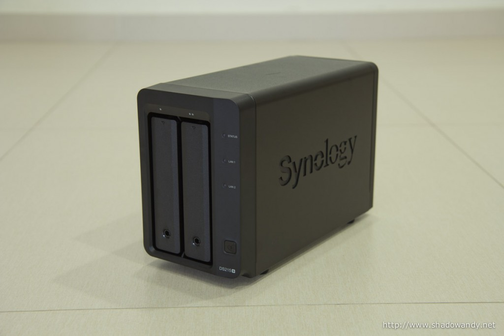 The Synology DiskStation DS215+. Annapurna SoC powered high performance 2-bay NAS.