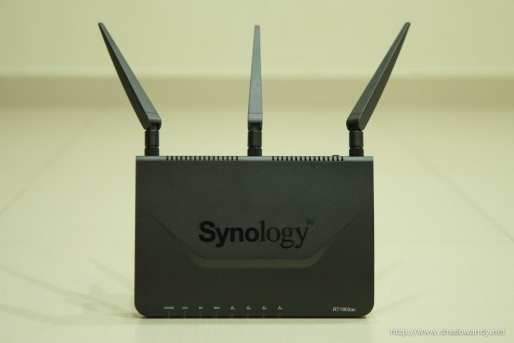 Synology RT1900ac: Your network, smart and swift.