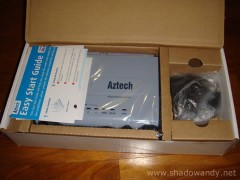 Aztech WL950RT4 - How the contents are packed