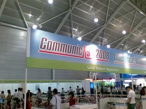 CommunicAsia 2008 - Entrance