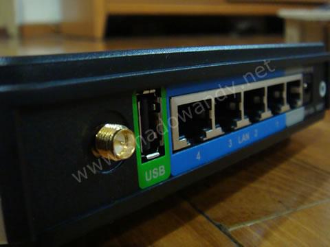 DIR-320 - USB port