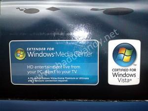 DMA2100 requires Windows Vista