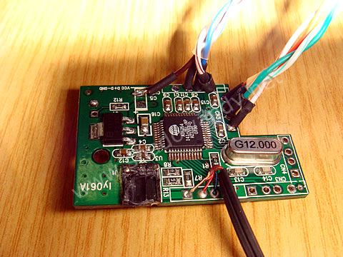 Internal USB Hub - wiring