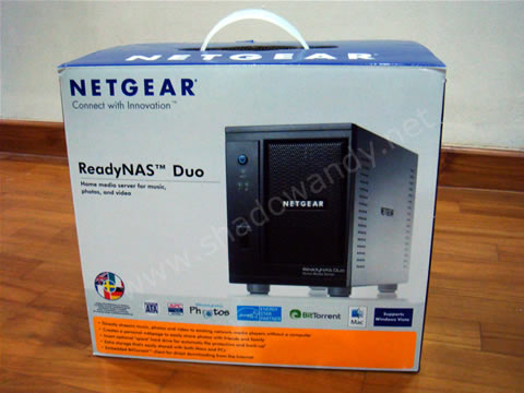ReadyNAS Duo - Packaging