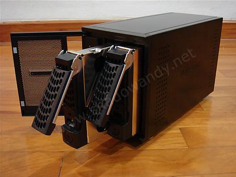 ReadyNAS Duo - 2 x hot swap bays