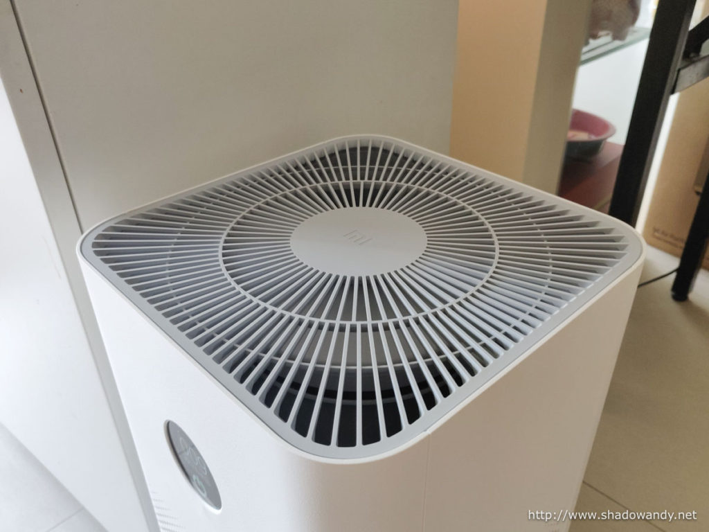 The top of the Xiaomi Air Purifier 3H.